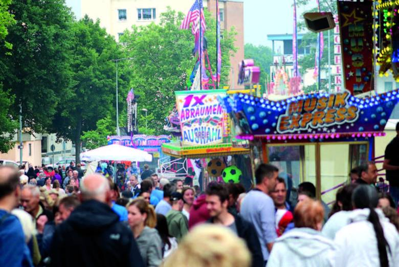 Baunatal, Stadtfest Baunatal, Vergnügingsmeile