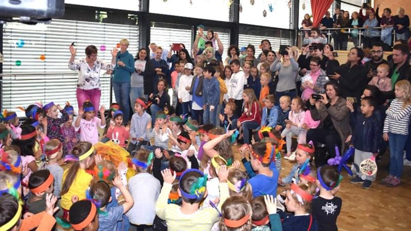 Theater, Musik und fröhliches Kinderlachen beim Stadtteilfest Baunsberg