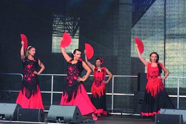 Stadtfest Baunatal 2019, Baunatal, Programm Samstag, 29.06.2019, Flamenco Gruppe Carmen, KSV Baunatal