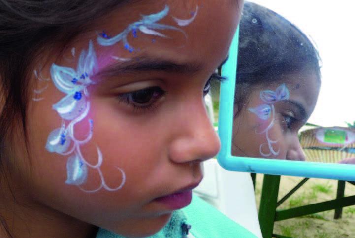 Stadtfest Baunatal 2019, Baunatal, Programm Samstag, 29.06.2019, Kinderschminken