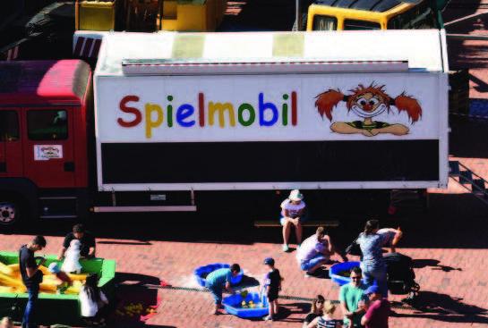 Stadtfest Bauantal, Baunatal, Spielmobil Augustine