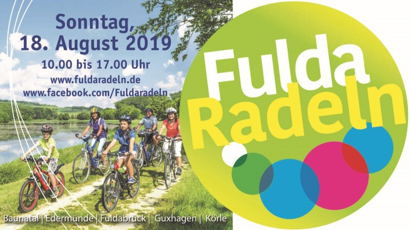 Fuldaradeln am 18. August 2019