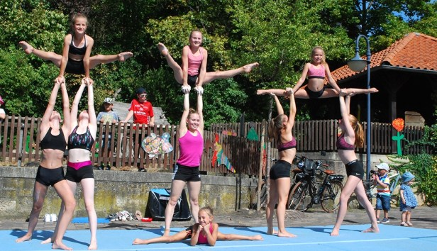 Backofenfest, Vereinsgemeinschaft Kirchbauna, KSV Baunatal Sportakrobatik