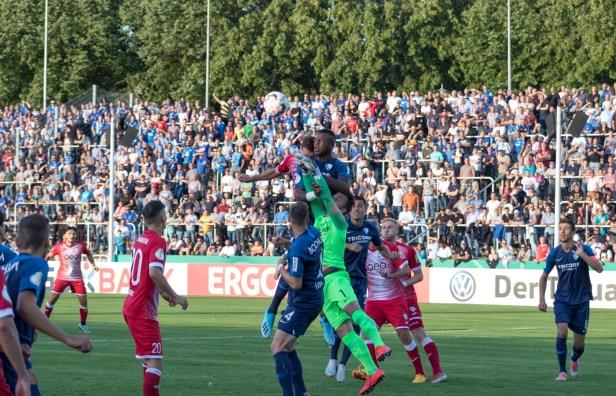Sport, Sport in Baunatal, DFB Pokal 2019, KSV Baunatal, VfL Bochum, Parkstadion Baunatal, Baunatal, SportinBaunatal, Baunatalbewegt, Fotocopyright Dirk Wuschko