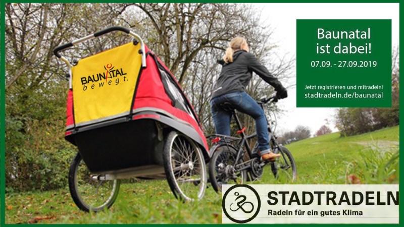 Baunatal nimmt am STADTRADELN im September teil