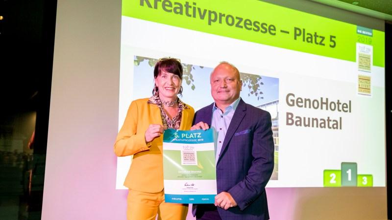 GenoHotel Baunatal als eines der besten Tagungshotels in Deutschland ausgezeichnet
