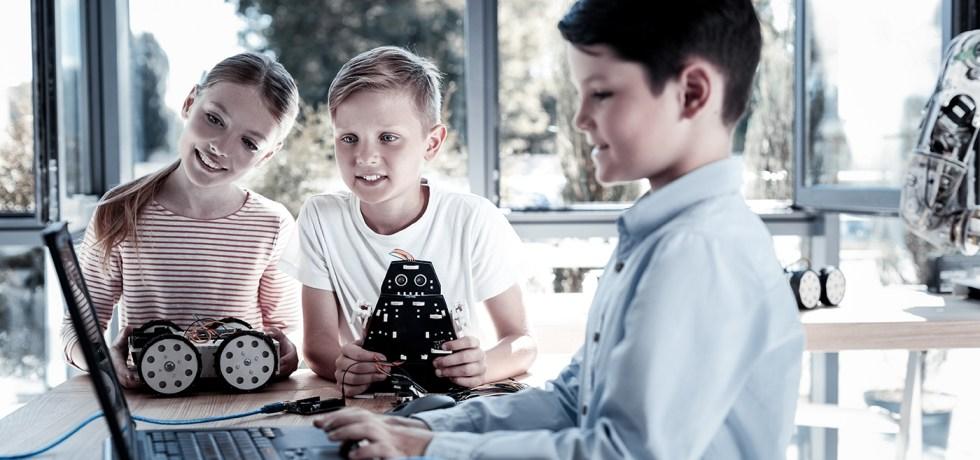 Kinder progammieren, Code Week, Baunatal