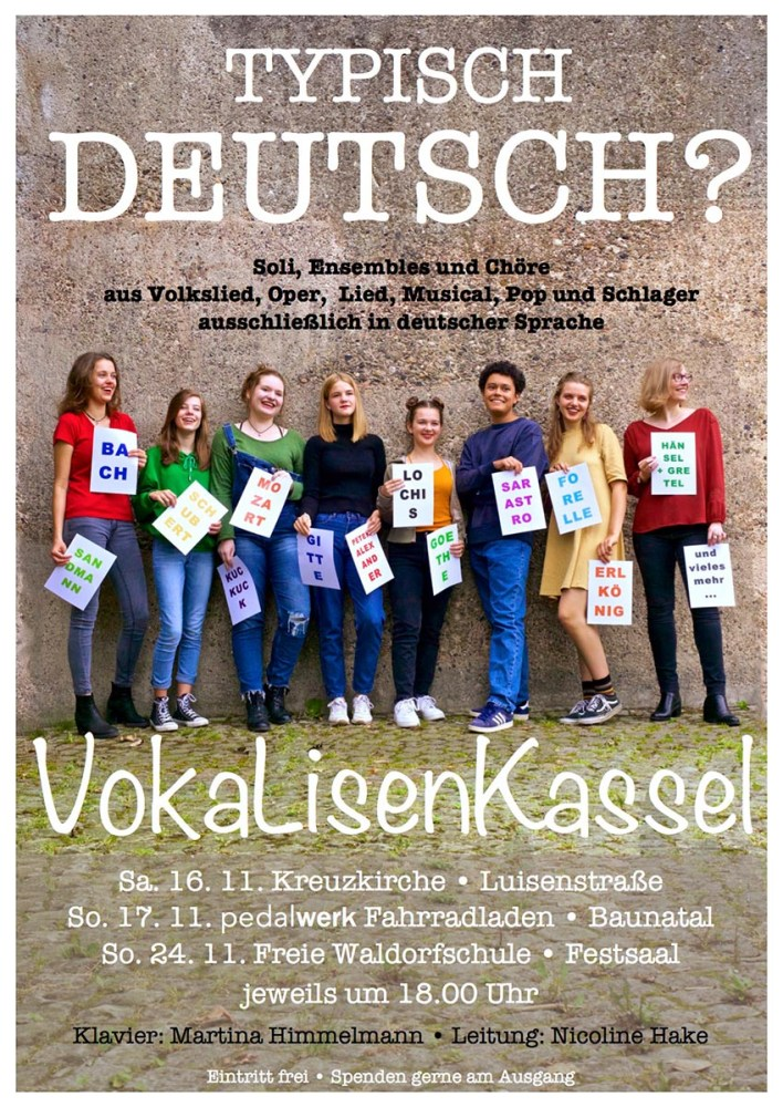 Baunatal, Kreis Kassel, Nordhessen, Pedalwerk baunatal, Vokalisenkassel, Veranstaltung