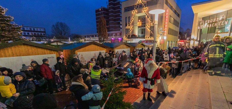 Nikolausmarkt Baunatal, 2019, Nikolaustag