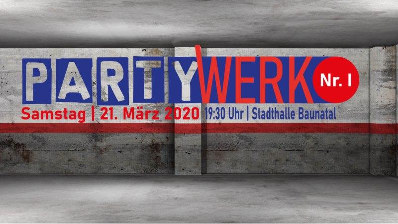 PartyWerk Nr. 1 – Baunatal tanzt!