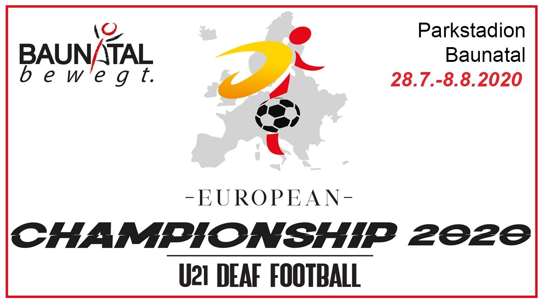 Baunatal ist 2020 Austragungsort der U21 European Championship Deaf Football