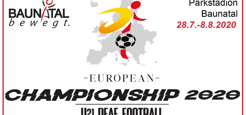 Fußball, u21, deaf, Nationalmannschaft, Baunatal, U21 European Championship Deaf Football, EM deaf 2020
