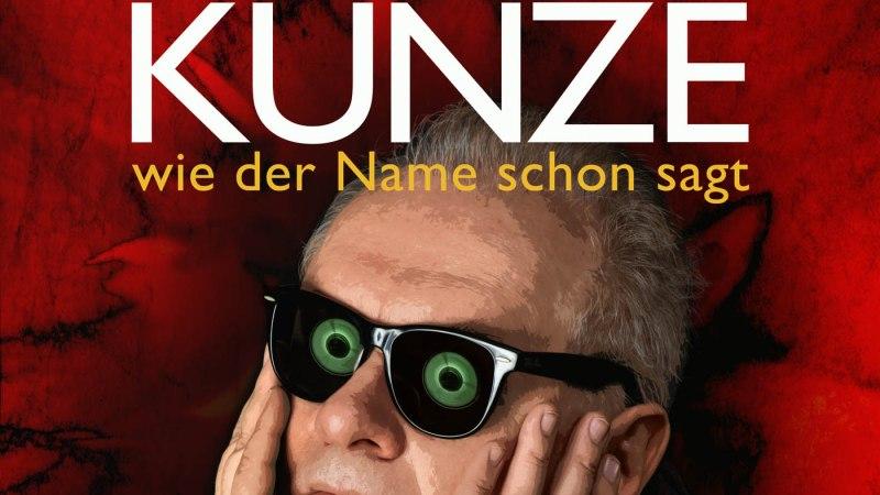 Heinz Rudolf Kunze diesen Samstag in Baunatal