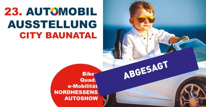 Baunataler Automobilausstellung 2020, Absage, Stadtmarketing Baunatal, #bauantalzusammen