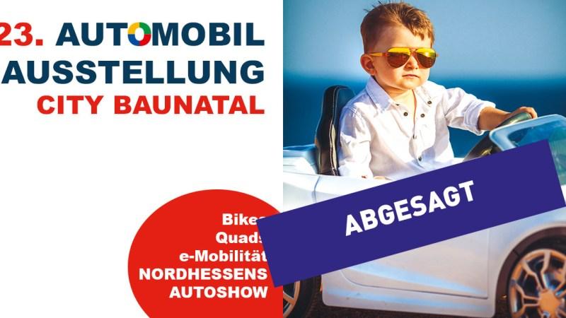 Baunataler Automobilausstellung Anfang Mai findet nicht statt