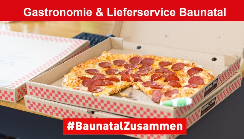 Baunatal, Gastronomie, Lieferservice, Baunatal Blog, Stadtmarketing Baunatal
