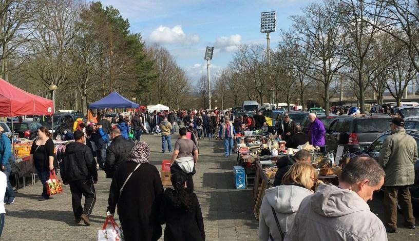 Baunatal, Flohmarkt, Parkstadion, Flohmaxx, BaunatalBlog