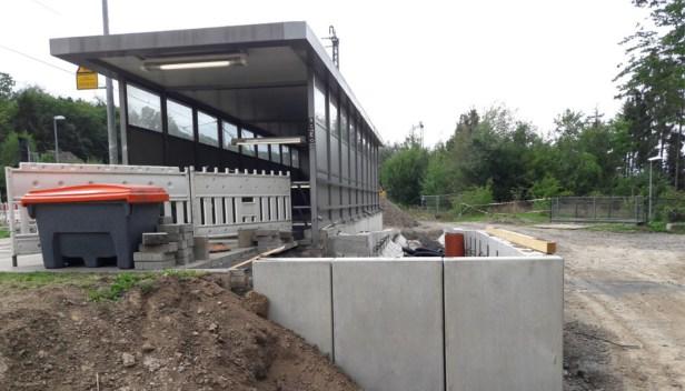 Jahresrückblick, Baunatal, Baumaßnahmen, Bahnhof Guntershausen