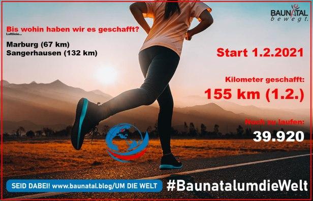 Baunatal, Sport, Baunatal um die Welt, 1.2.2021