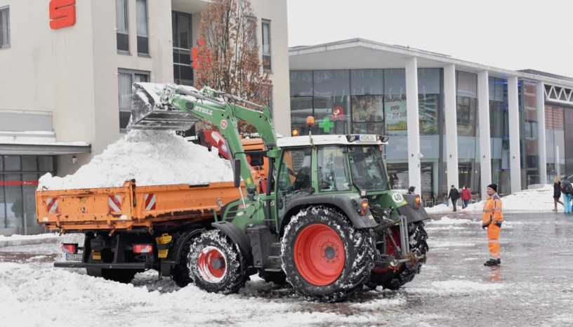 Baunatal, Landwirte, Schnee
