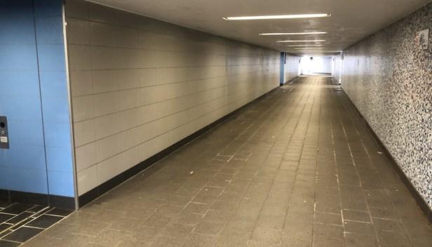 Baunatal, Bahnhof, Guntershausen, barrierefrei, Unterführung
