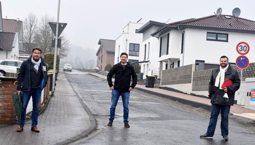 Baunatal, Trineweg, Straßenendausbau