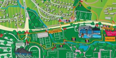 Baunatal, Streckenplan, Citycross 2021