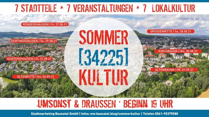 SOMMER[34225]KULTUR, Baunatal, Landkreis Kassel, Nordhessen,