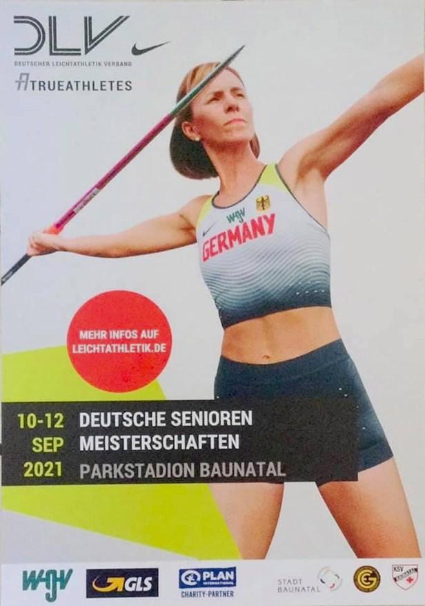 Deutsche Leichtatlehikmeisterschaft, Senioren, Baunatal, 2021