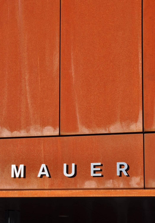 Cortenstahl Fassade Corten Fassade Wellblech Frobel Metallbau