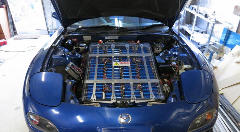 Elektroautos - Die Antriebsbatterie - Bauplan-Elektroauto
