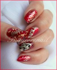 Nail art  Happy New Year | Nail art Baurorenail  le blog