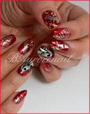 nail art happy year