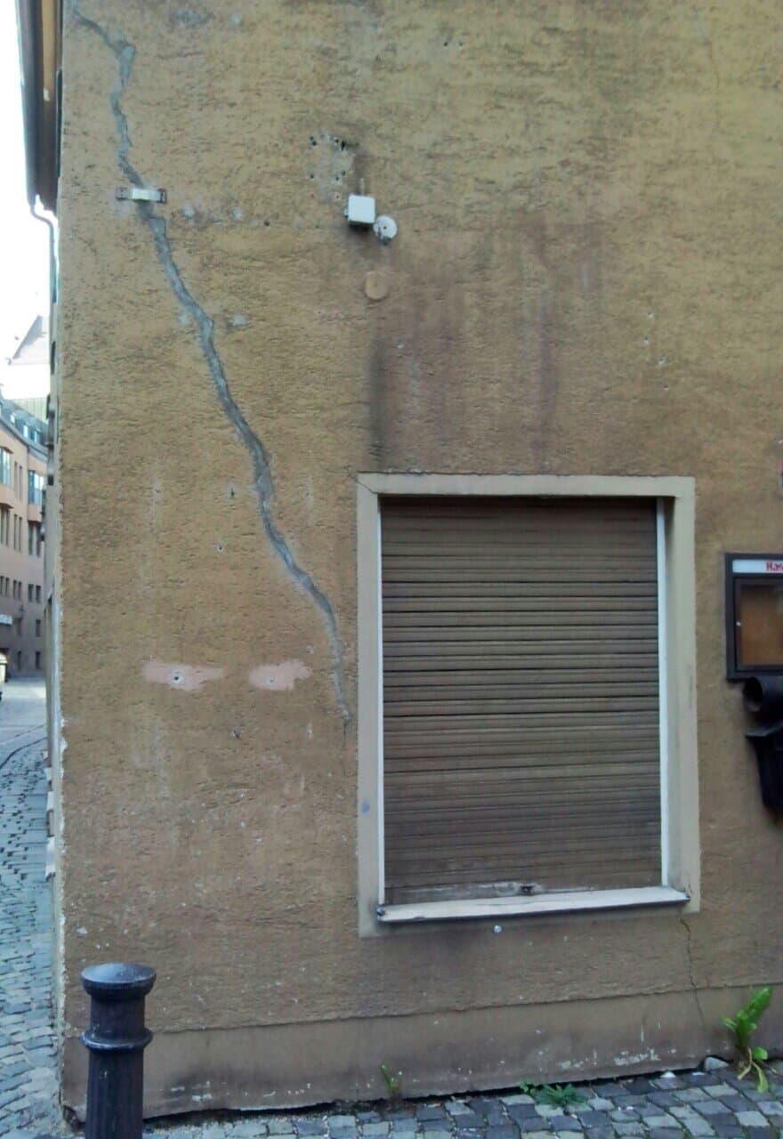 Risse Im Putz - Mauerwerk Gutachter - Baugutachter