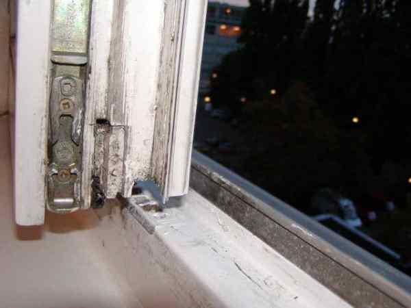 Welchen Wert haben diese Fenster beim Hausverkauf? verkaufen Wertbestimmung, verschimmelt Schimmelpilz
