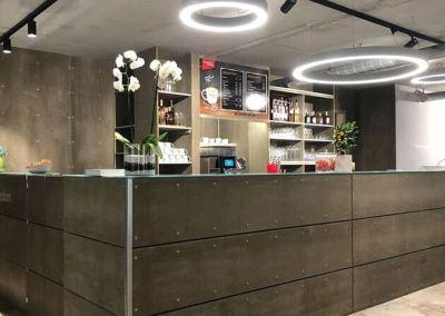 Innenausbau – Cetris Platten Böden & Wände Hotel