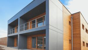 fassade fassadenplatten cetris finish holzbau ökologisch bausal gmbh