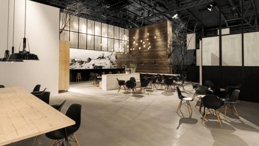 Interior – Exhibition flooring