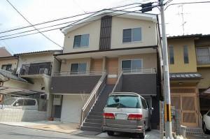 鉄骨&木造混構造事務所併用住宅 工事は施工会社があり、設計監理業務 京都 中京区で新築 1階は店舗スペースまたは事務所として利用可能な内装