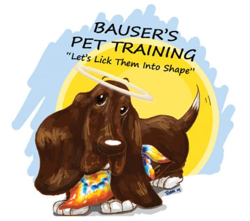 Bauser's Pet Training Logo