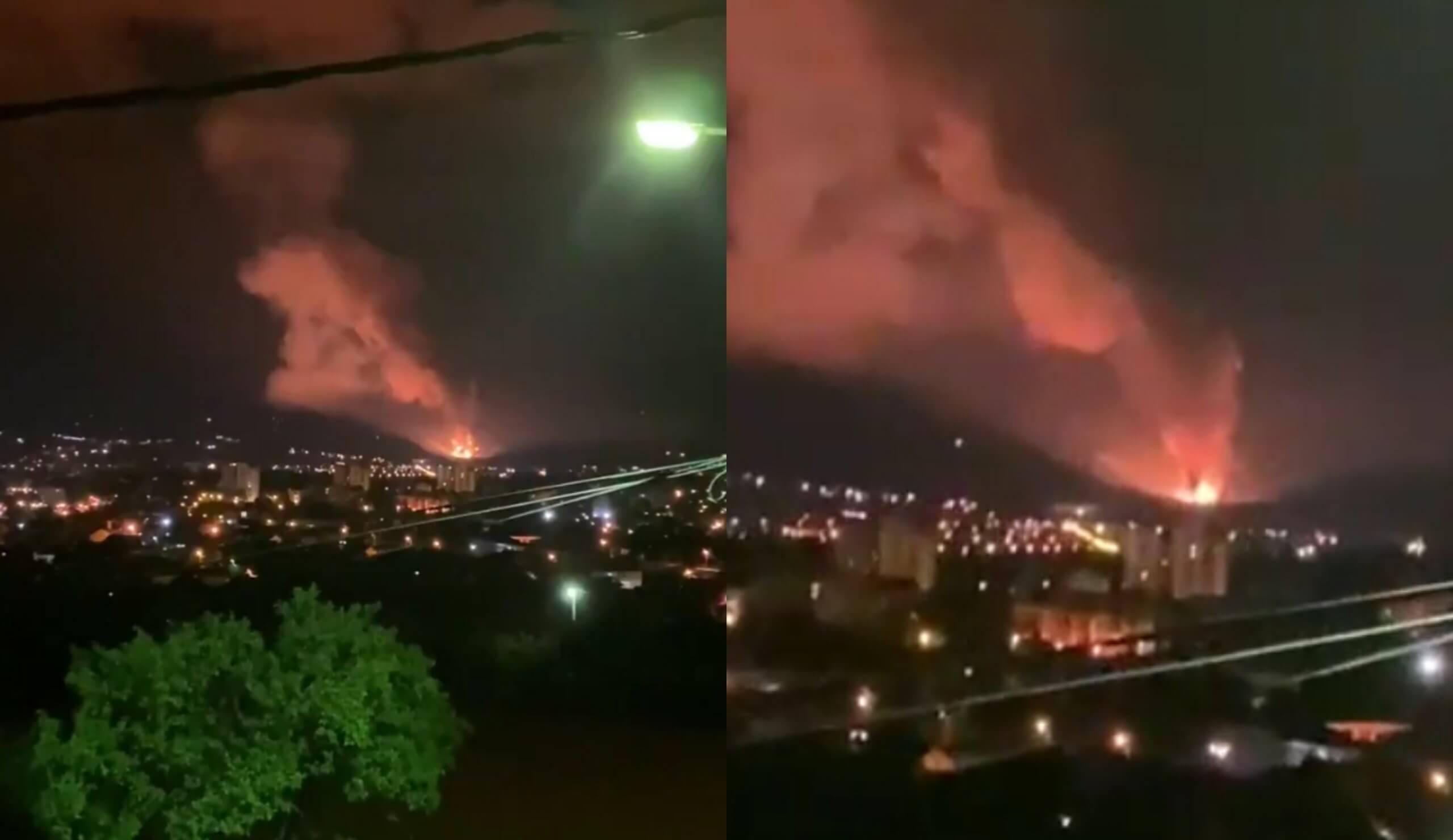 [VIDEO] Eksplozija u tvornici u Srbiji: Evakuirani radnici i građani