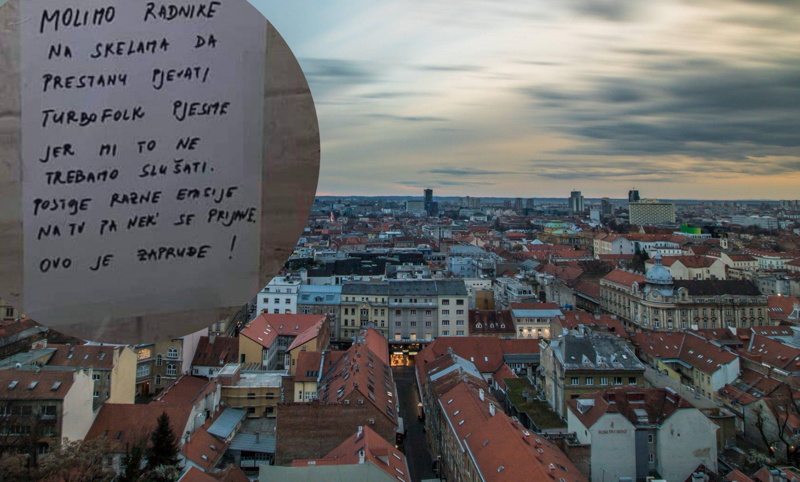 Stanari zagrebačke zgrade prozvali bauštelce na oglasnoj ploči: 'Ovo je Zapruđe!'