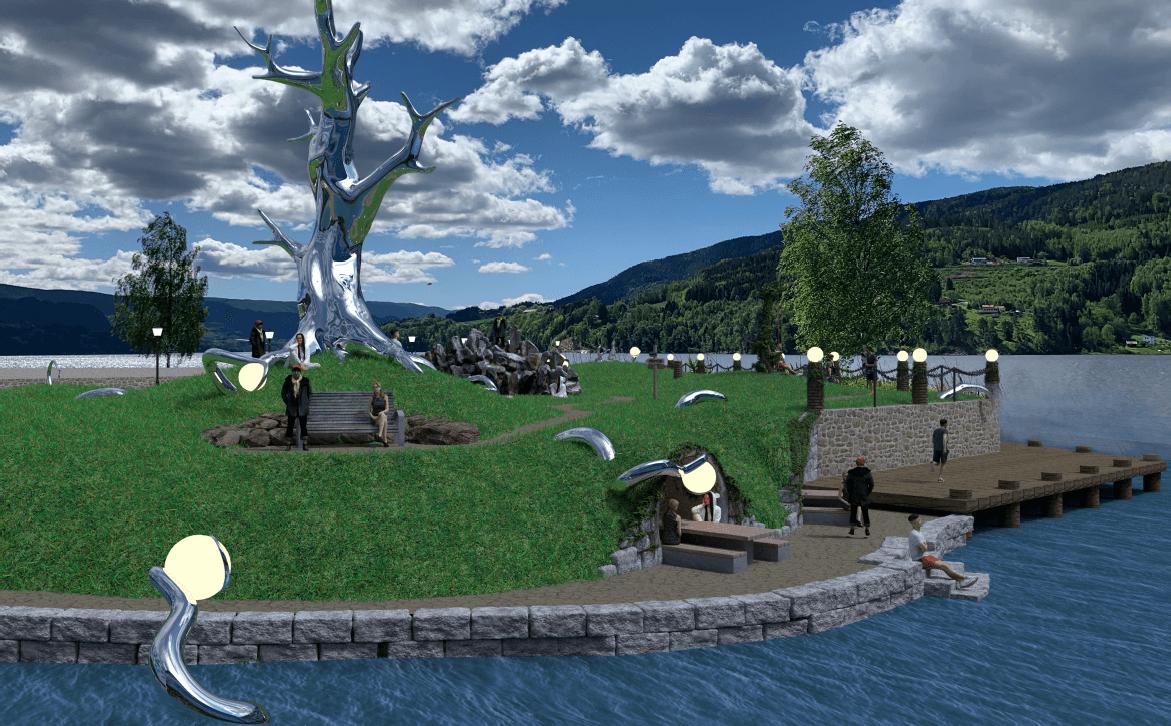 Znate li što predstavlja neobičan norveški spomenik?