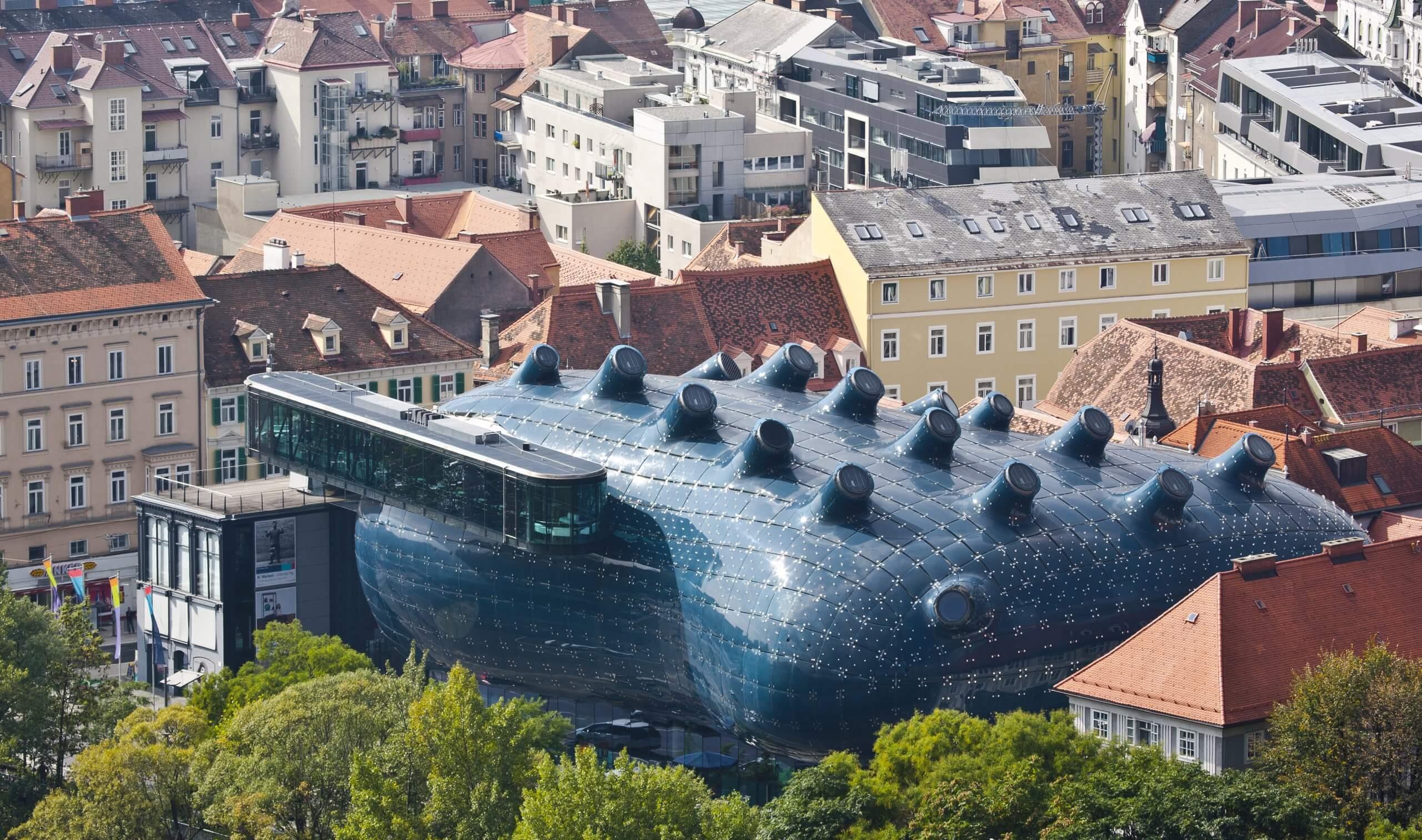 Znate li čije srce predstavlja futuristička zgrada u Grazu?