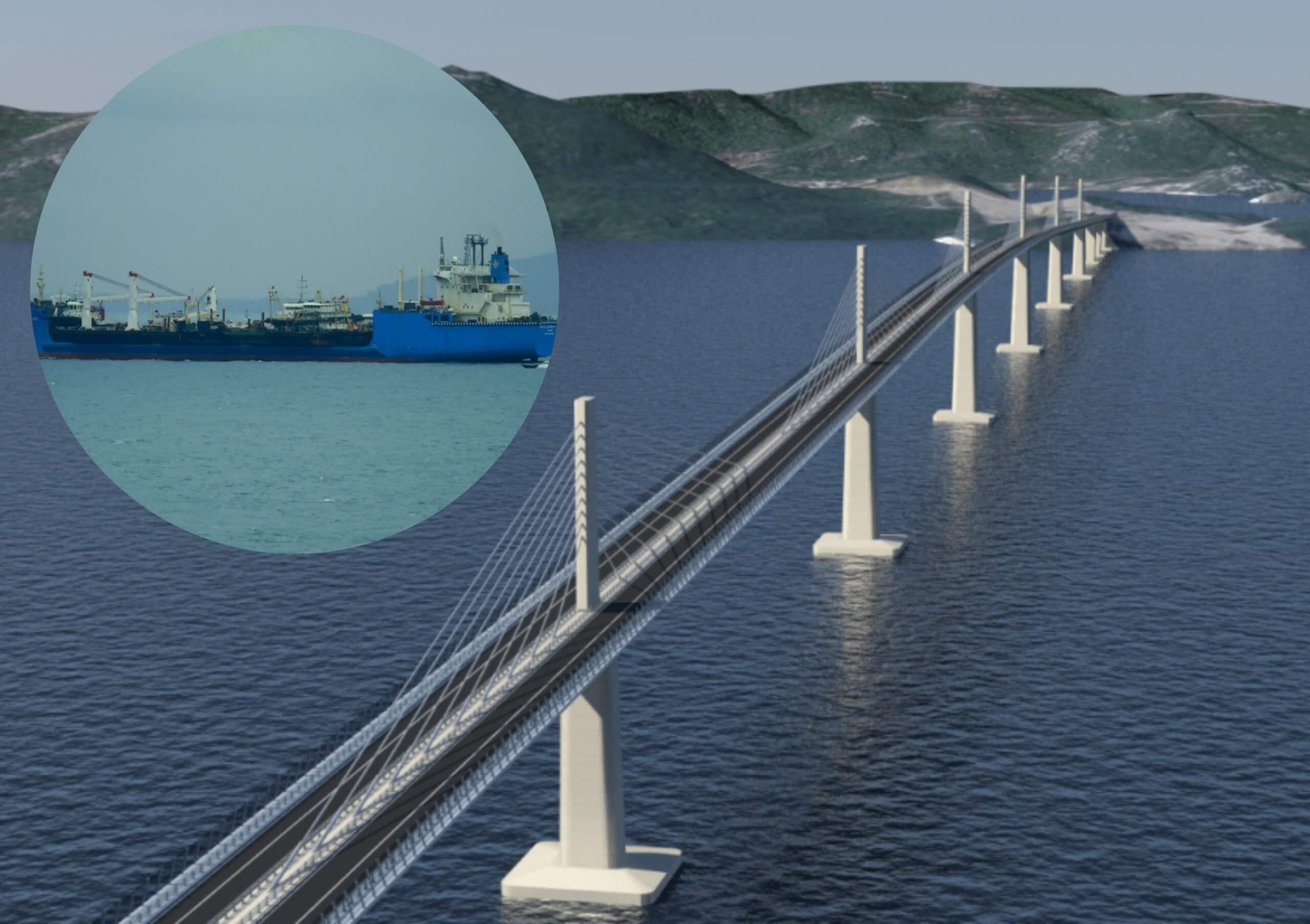 Iz Kine stigli zadnji segmenti Pelješkog mosta: Spajanje Hrvatske očekuje se početkom kolovoza