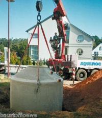 Regenwassernutzung Beton-Zisterne 5600 Liter