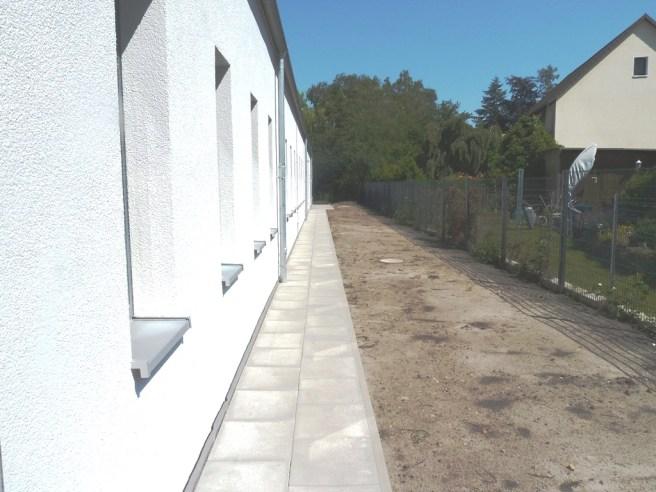 Ostseite Außenanlage