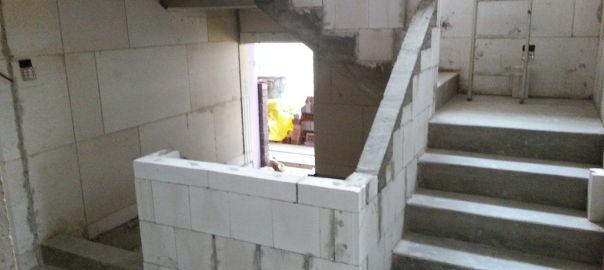Treppenbrstung  Bautagebuch