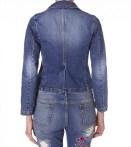 Jackette jacket i washed indigo