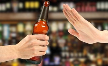 depositphotos 21355229 stock photo hand reject a bottle of